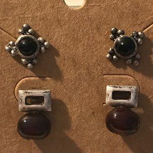 Earrings 2 pairs